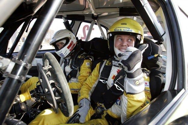 Рали Швеция: Сезонът започна с етапна победа за Пер Гунар