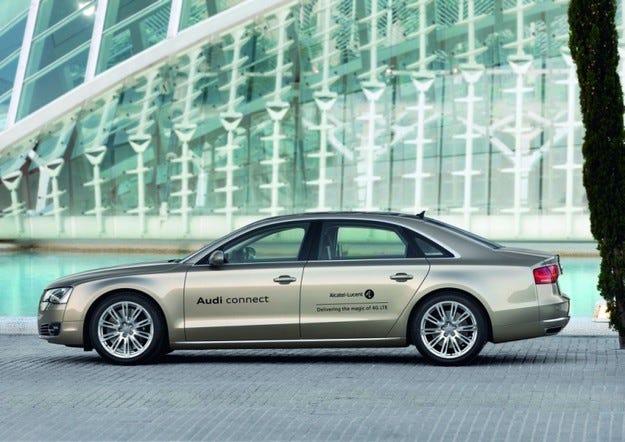 Audi представя нова система за автомобилен нетуъркинг