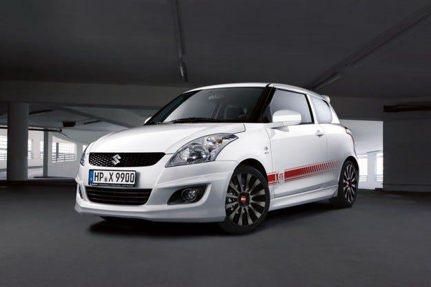 Suzuki Swift X-ITE: Немски подпис