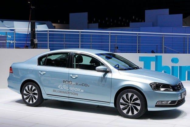 VW Passat BlueMotion: 1700 км с един резервоар