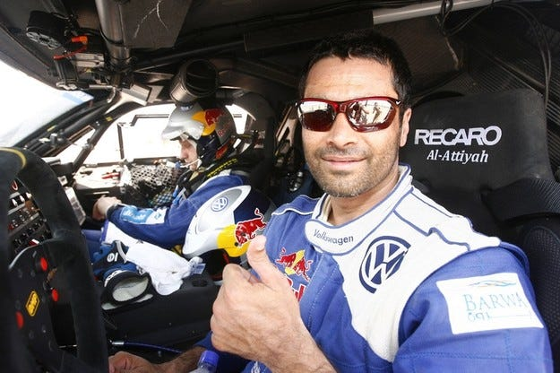 Насер Ал-Атия ще бъде единият заводски пилот на VW