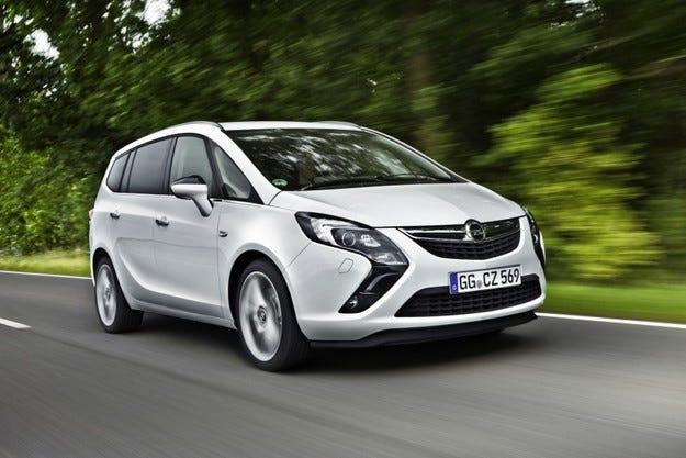 Opel Zafira Tourer ecoFLEX: Шампион по гъвкавост