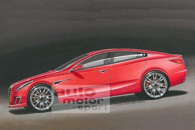 Alfa подготвя нов седан със задно предаване