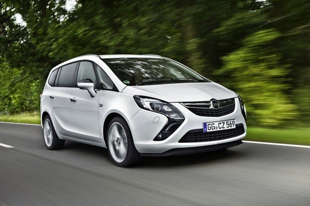 Opel Zafira Tourer CNG: Природен продукт