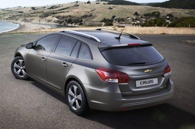 Chevrolet Cruze SW: Практичността е на първо място