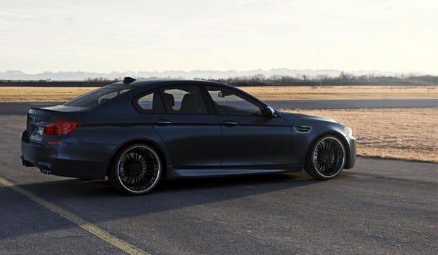 G-POWER BMW M5: Мощно, всички!