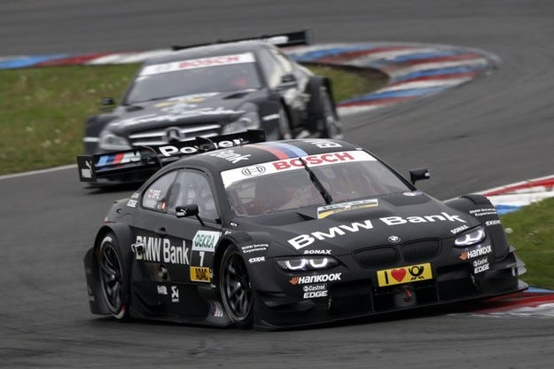 DTM: BMW спечели първата си победа след 20 години