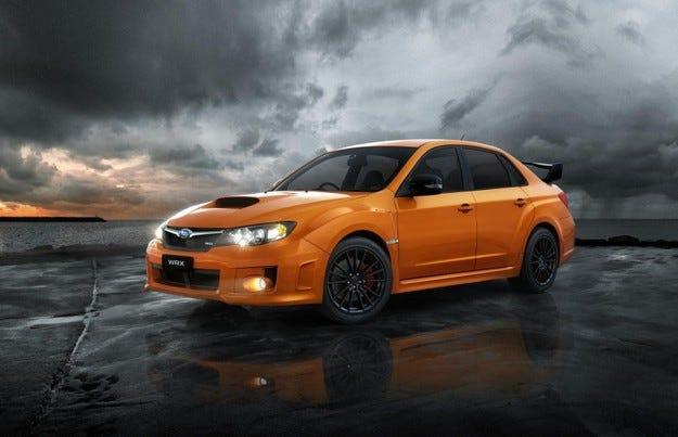 Subaru Impreza Club Spec WRX: Мандарини