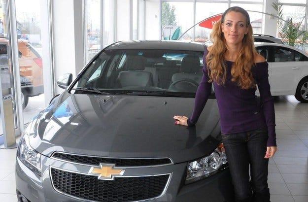Chevrolet Cruze Ivet Lalova Edition: За десетима избрани
