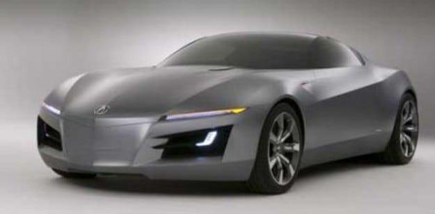 Honda NSX: Повторно забавяне