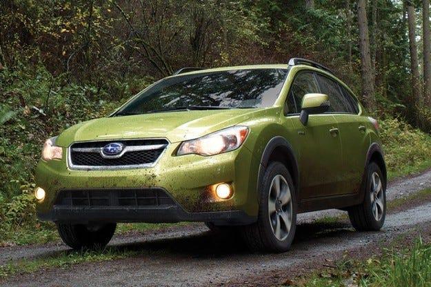 Subaru XV Hybrid:Първият хибрид на Subaru
