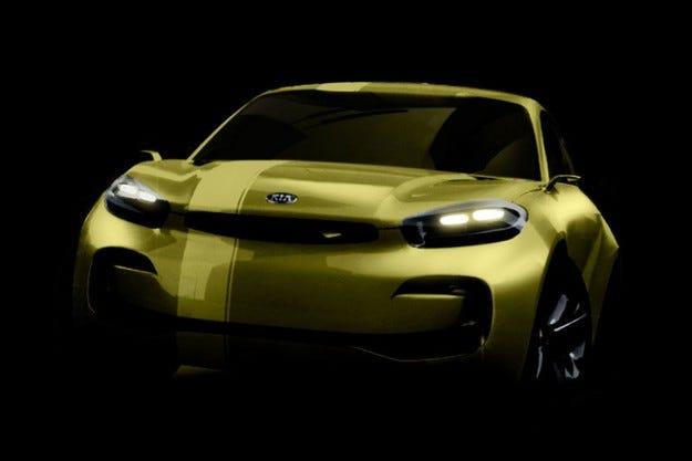 Концепцията на Kia CUB в Сеул: Купе с 4 врати