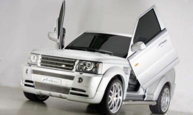 Arden Range Rover Sport: Полет над кукувиче гнездо