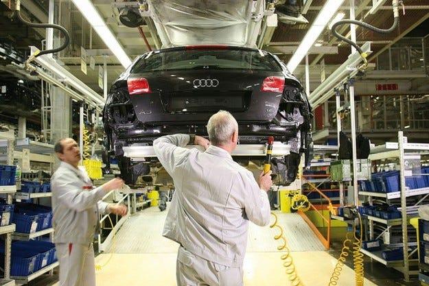 Завод на Audi и в Бразилия