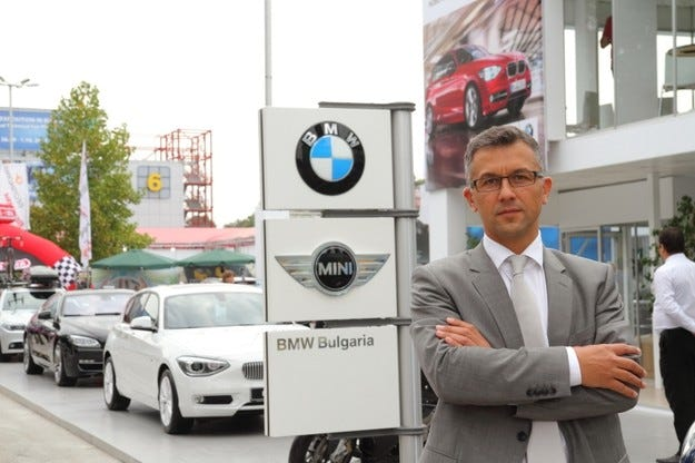 Управителят на BMW Group България поема управлението и на BMW Group Румъния