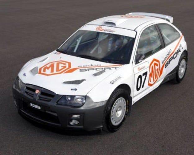 MG S2000 Sport: MG отново в рали-спорта