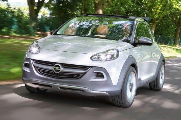 Дочуто!: Зелена светлина за Opel Adam Rocks