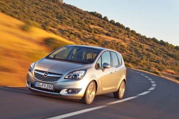 Opel Meriva с ново поколение двигатели и многобройни подoбрения