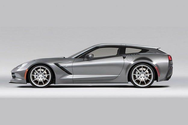 Callaway Aerowagon: Chevrolet Corvette C7 като Shooting Brake