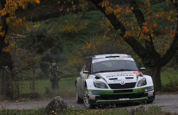 Рали дю Вале: Лапи сложи точка на сезона в ERC