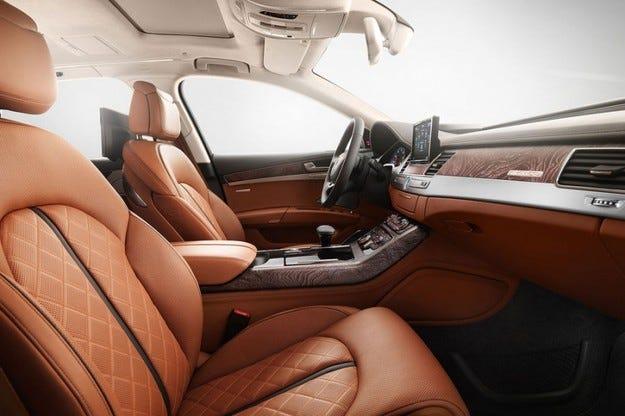Audi A8 Еxclusive Concept: 50 специални луксозни модела