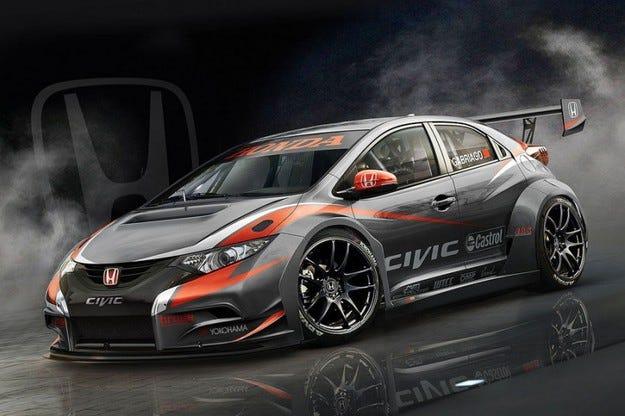 Honda Civic WTCC: Идва състезателната версия на Honda Civic