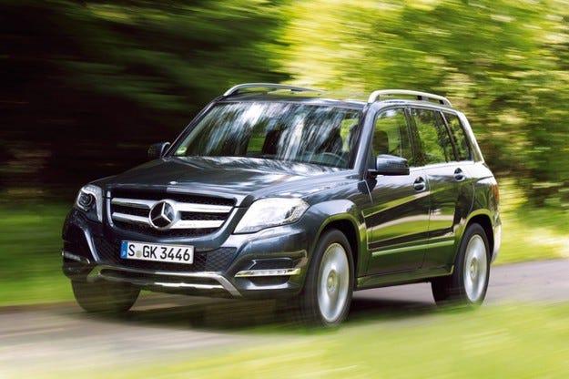 Mercedes GLK с ново задвижване: 2 бензинови варианта със задвижване на задните колела