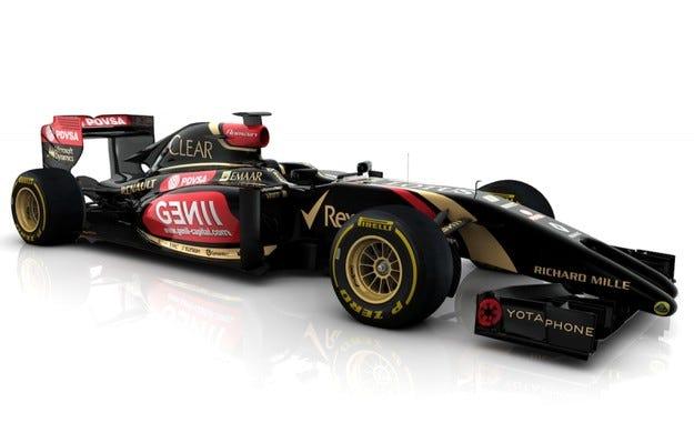 Двоен нос за Lotus E22