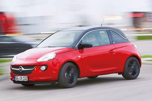 Opel Adam 1.0 Ecotec на автомобилния салон Женева