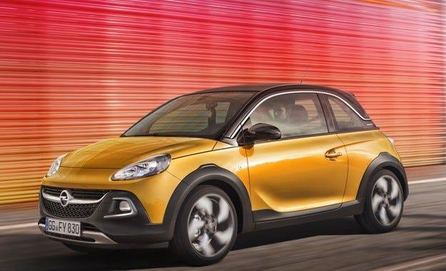 Opel Adam Rocks: Готов за приключения