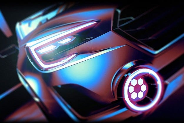 Subaru Viziv 2 Concept на автомобилния салон Женева