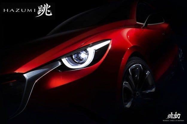 Mazda Hazumi на автомобилното изложение в Женева