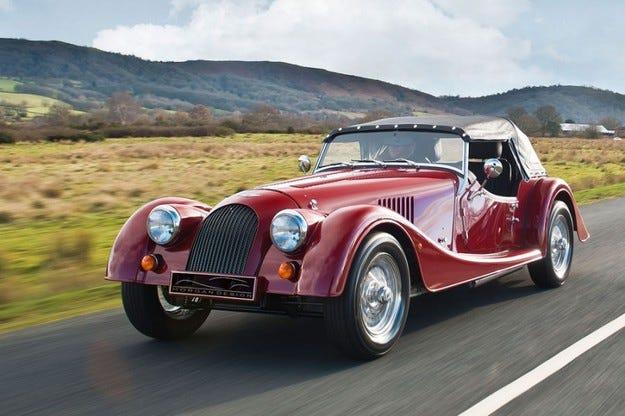 Morgan Plus 4: Четирицилиндров мотор с по-голяма мощност
