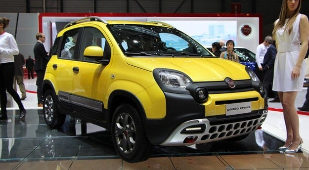 Fiat Panda Cross ще мери сили с големите
