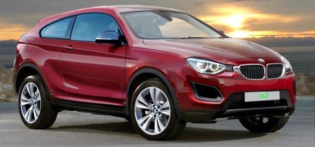 BMW ще представи кросоувъра Х2 през 2017 г.
