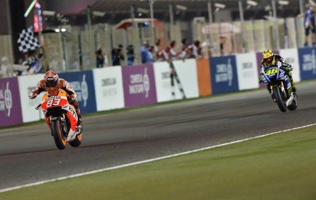 Гран при на Катар: Маркес откри сезона с победа