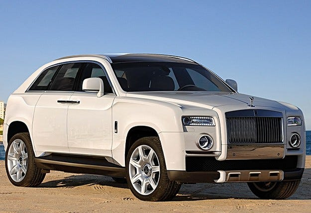 Rolls-Royce ще представи високопроходим модел