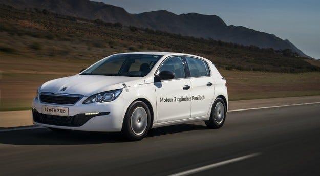 Peugeot 308  с рекорд по разход на гориво с 2,8 л/100 км