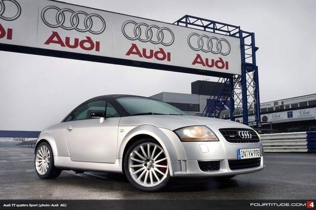 В Audi: изложба, посветена на историята на TT