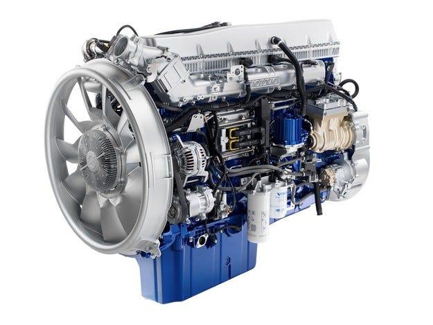 Най-мощният сериен камион в света вече с Eвро 6 двигател