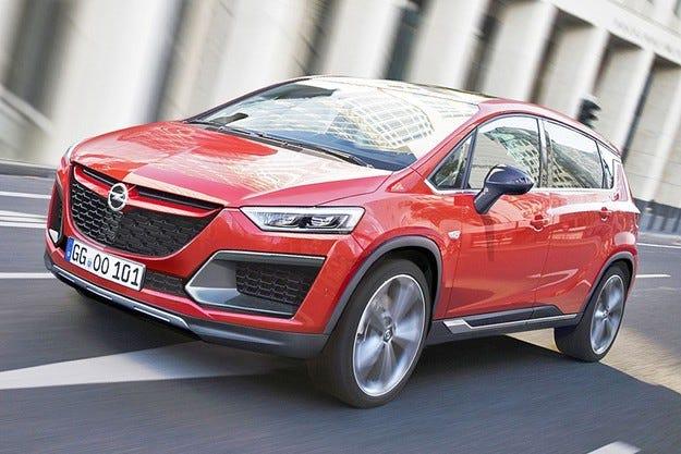 Opel подготвя едновременно два нови кросоувъра