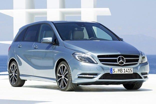 Mercedes стартира електрокар на базата на B-класата