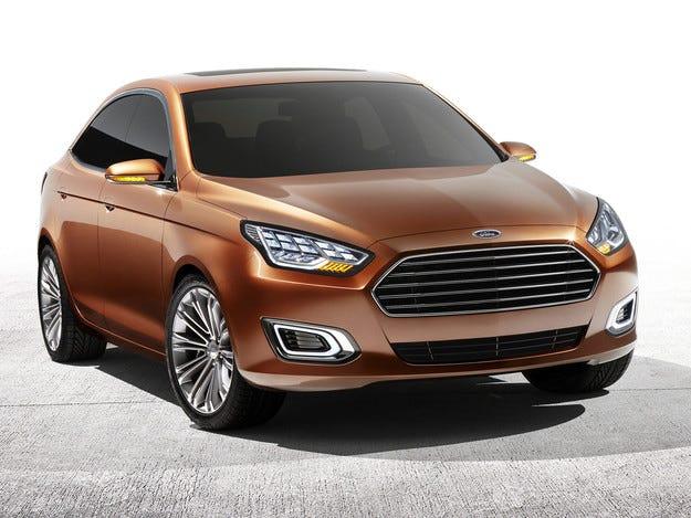 Крият от публиката нов сериен Ford Escort