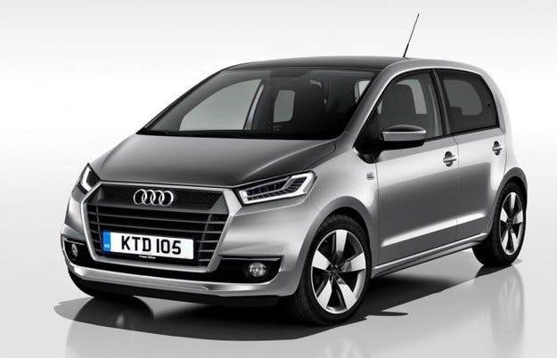 Audi се отказва от производството на градския хечбек А0
