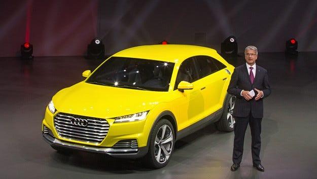 Шефът на Audi очерта бъдещите граници на моделната гама