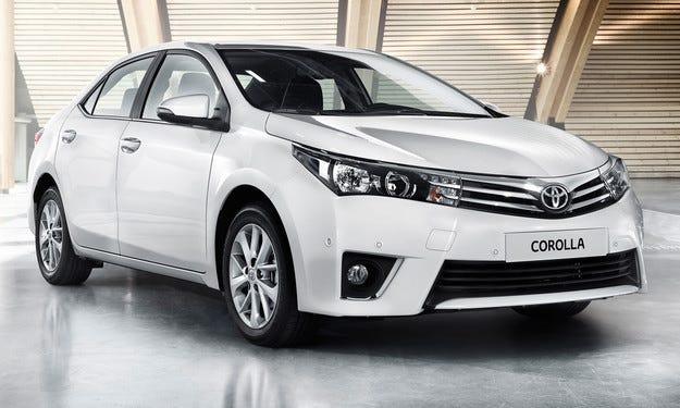 Toyota Corolla е най-продаваният автомобил за 2013