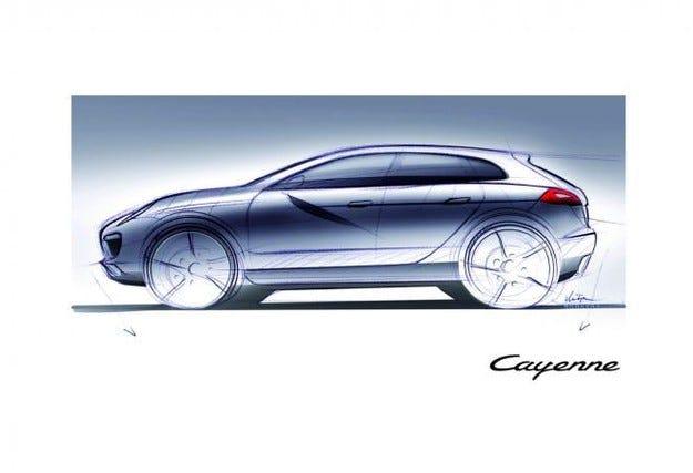 Porsche  готви купе с четири врати на основата на Cayenne