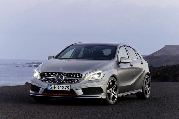 Mercedes с ясно виждане за малките автомобили