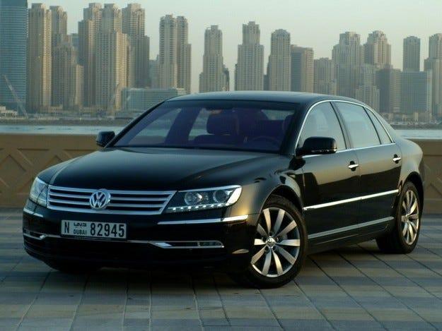 Volkswagen Phaeton трябва да стане по-евтин