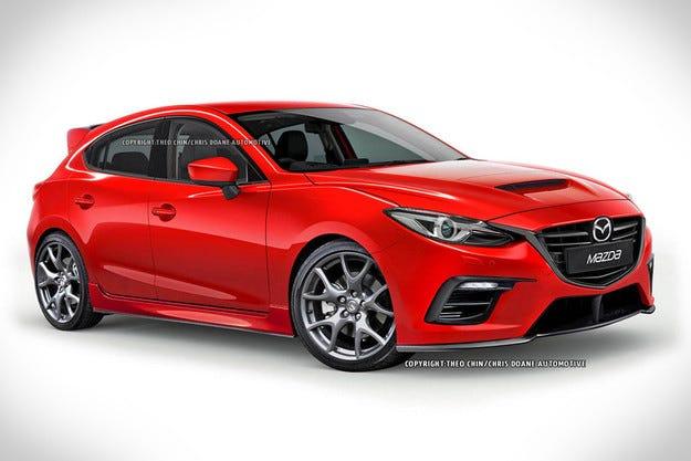 Новата Mazda3 MPS с четири двигателни колела